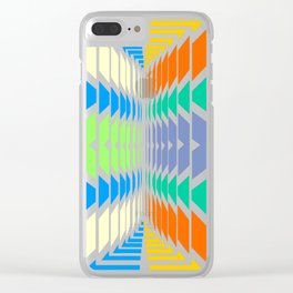 INDIAN ABSTRACT Clear iPhone Case