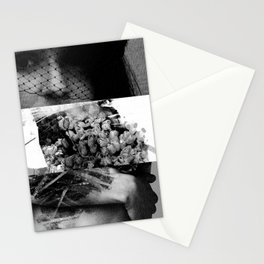 in memoriam in bw Stationery Cards