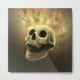 Burning Sin Metal Print