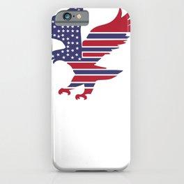 American Flag Eagle iPhone Case