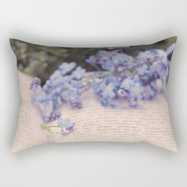 They are not your friends until they have defended you in your absence. Rectangular Pillow