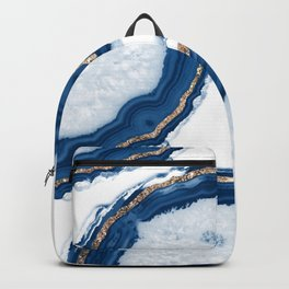 Agate Glitter Glam #15 #gem #decor #art #society6 Backpack