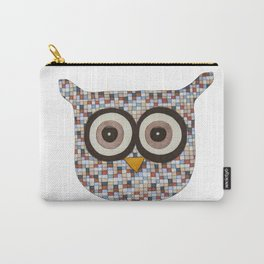 Tweed Owl Carry-All Pouch