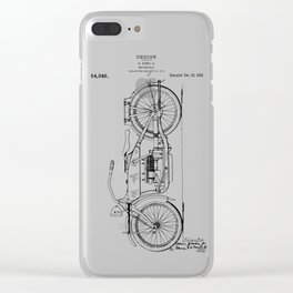 Harley Patent: Model W Clear iPhone Case