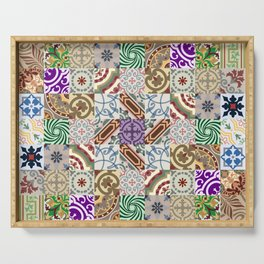 Cement tiles Serving Tray