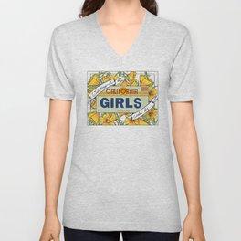 California Girls Unisex V-Neck