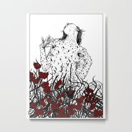 asc 428 - La reine des épines (Queen of pain) Metal Print