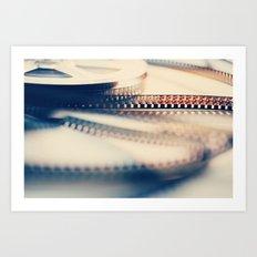 super 8 film II Art Print