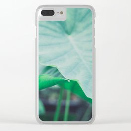 Paradise 04 Clear iPhone Case