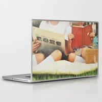 girls Laptop & iPad Skins featuring Girls by SilverSatellite
