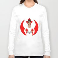 leia Long Sleeve T-shirts featuring Leia by DearlyMe