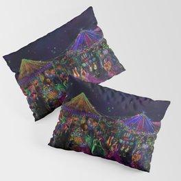 Magical Night Market Pillow Sham