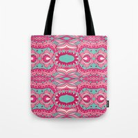 60s Tote Bags featuring 60s  by cactus studio
