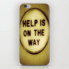 Help (be patient) iPhone Skin