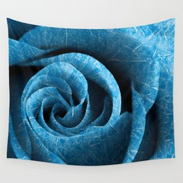 Arctic Rose Wall Tapestry