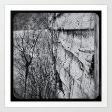 Winter Lasts Too Long Art Print