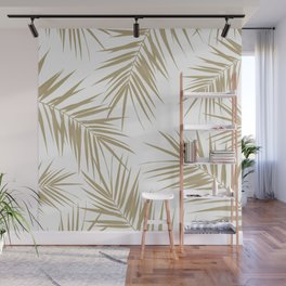 Palm Leaves Cali Finesse #2 #gold #tropical #decor #art #society6 Wall Mural