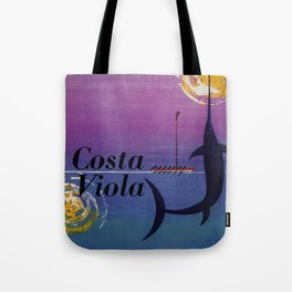Costa Viola Reggio Calabria Tote Bag