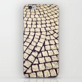 cobblestone pathway iPhone Skin