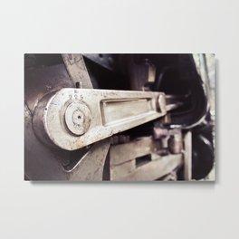 Crank Metal Print