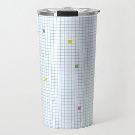 Checked Pattern_N Travel Mug