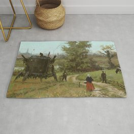 1920 - breakfast is coming Rug