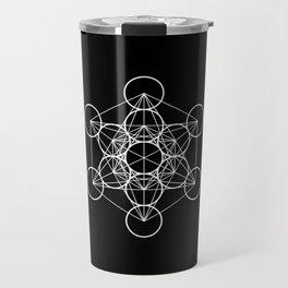 Metatron's Cube II Travel Mug