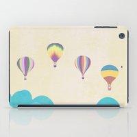 hot air balloons iPad Cases featuring hot air balloons by studiomarshallarts
