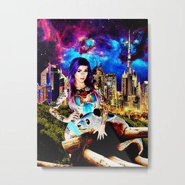 Lisa Frank Beyond Thunderdome Metal Print