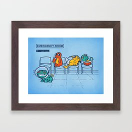Emergency Room Framed Art Print