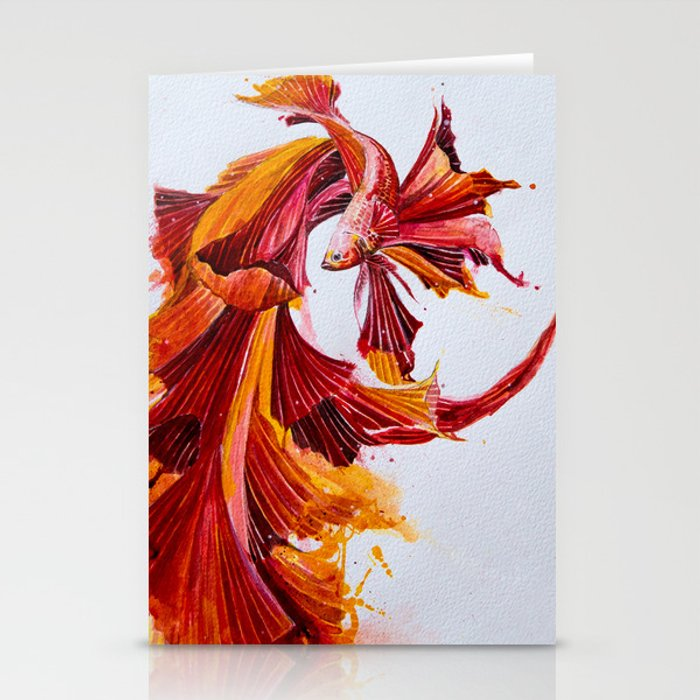 Ignite stationery card by Marc Allante