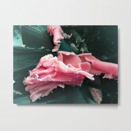 Floral Fat Metal Print