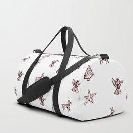 Chrismas tree decor pattern Duffle Bag