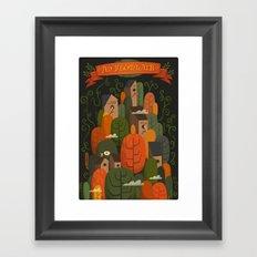 An Fhomhair (Autumn) Dark Framed Art Print