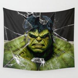 Angry HULK  Wall Tapestry