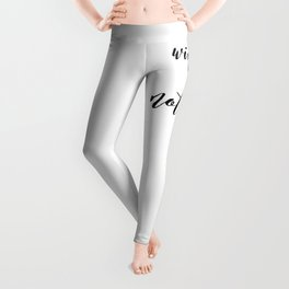 Wine Not? Leggings