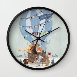 little adventure days Wall Clock