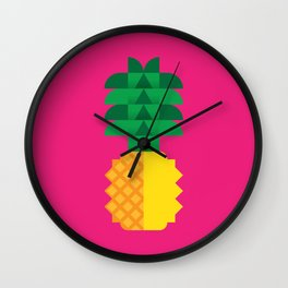 Fruit: Pineapple Wall Clock