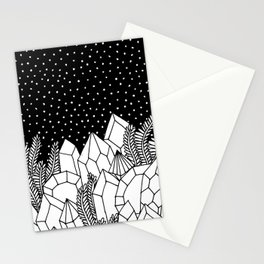 Cosmic Crystals Stationery Cards