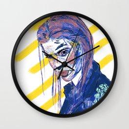 Girl Gang: Go Away Wall Clock