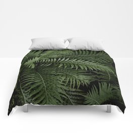 Tropical leaves 02 Comforters