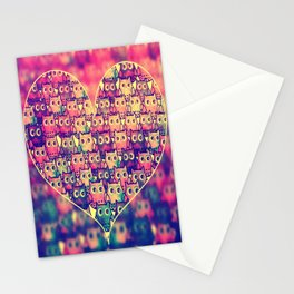 owl-125 Stationery Cards