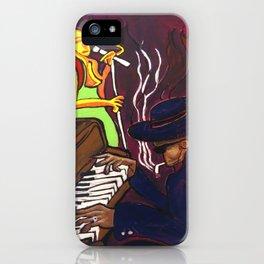 Gumbo night 18 iPhone Case