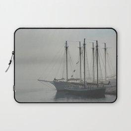 Sailing in Fog Laptop Sleeve