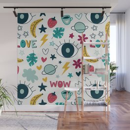 Colorful Pattern Wall Mural