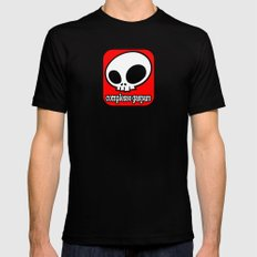 complesso gasparo Mens Fitted Tee Black MEDIUM