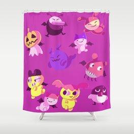 Devilgotchis Shower Curtain