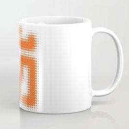 Aum Orange Coffee Mug