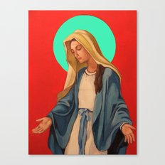 mary Canvas Print