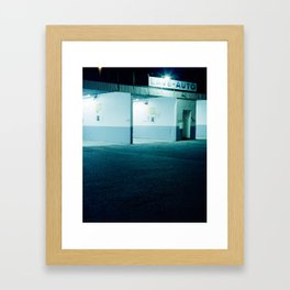 Lave-auto Framed Art Print